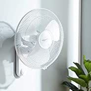 AmazonBasics - High Speed Wall Fan for Cooling with Automatic Oscillation (400 MM)