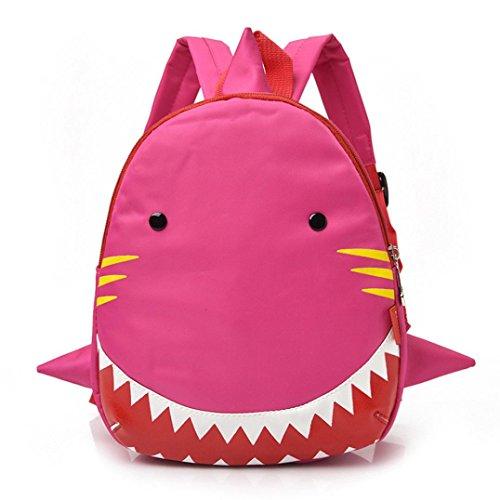 aifischmuster Tierrucksack Kleinkind-Schulbeutel zum Baby Jungen Mädchen Kinder (PK) (Halloween-geschenk-körbe Für Kleinkinder)