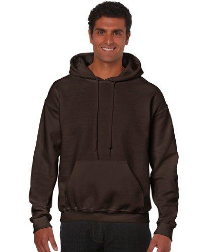 Gildan - Unisex Kapuzenpullover 'Heavy Blend' , Dark Chocolate, Gr. XXL (Braun Sweatshirts Für Männer)