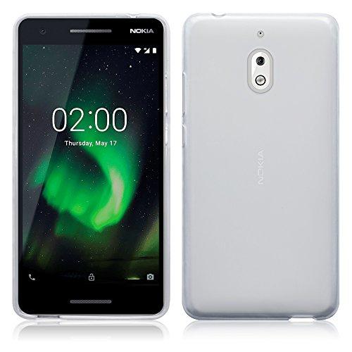 TERRAPIN, Kompatibel mit Nokia 2.1 Hülle, TPU Schutzhülle Tasche Case Cover - Transparent