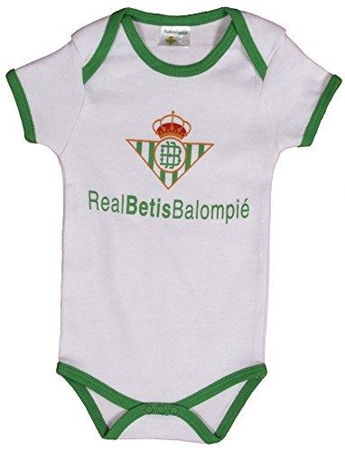 Real Betis Balompié Bodbet Body, Infantil, (Verde/Blanco), 09