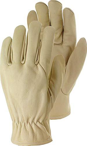 Rindsnappaleder Driver Premium Handschuhe beige (9)