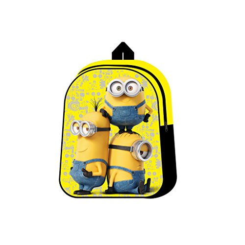 Fancy STT3205029HV - Minions Zainetto Asilo Giallo