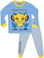 Disney Pigiama a Maniche Lunghe per Ragazzi Lion King