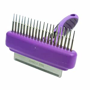 Rosewood Combo Comb and Moult Stoppa, Small