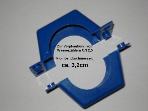 Preisvergleich Produktbild Plombierschelle QN 2, 5 zweiteilig Blau