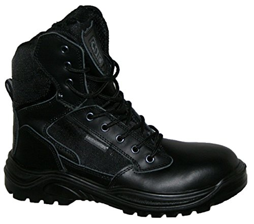 steel-toe-cap-combat-tactical-safety-ankle-boots-security-military-police-boot-uk12-black