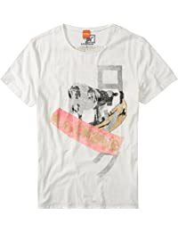 BOSS Orange T-SHIRT TIMUR 1 FARBE CREME 101 GR: XL