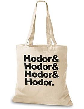 StyloBags Jutebeutel / Tasche Hodor, Hodor, Hodor & Hodor