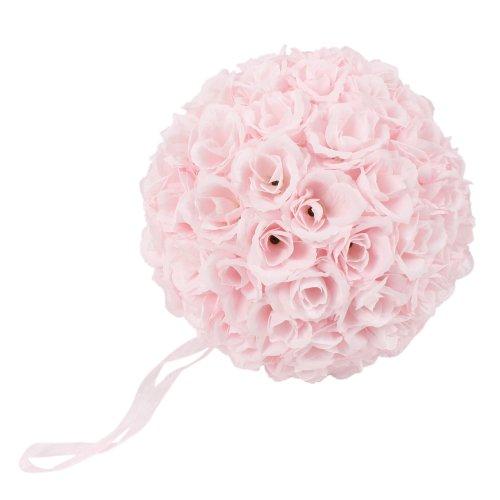 Ca. 25 cm Blume Rose Duftkugel Kugeln Centerpieces Dekorationen Hochzeit, Mehrfarbig (Pink)