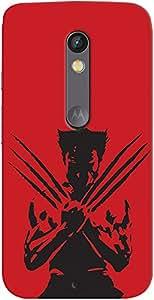Kasemantra X Men Wolverine Case For Motorola Moto X Play