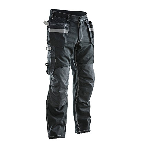 Jobman Damen Handwerker-Hose, 1 Stück, DA36, schwarz, 220113-9900-DA36