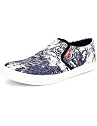 Essence Men's Casual Synthetic Slip-On Sneakers
