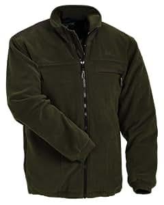 Pinewood Veste polaire à fermeture éclair Homme vert/marron S