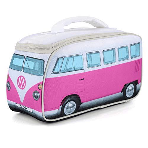 Volkswagen VW-Lunchbag, VW Bulli T1 Samba, Unisex für Erwachsene und Kinder, VW-Geschenke, Rosa