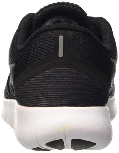 Nike Jungen Free Rn (Gs) Gymnastik Schwarz (Black/Metallic Silver-Anthrct)