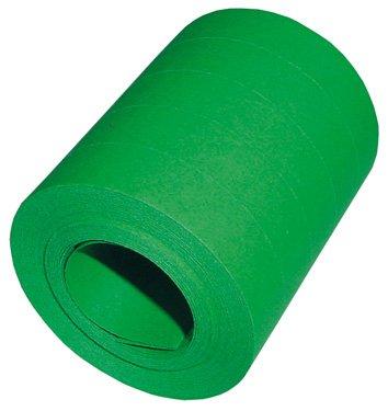DS Luftschlangen grün, 12x5er Jumbo-Rollen = 60 XL Einzelrollen je 15m/14mm XL Breite, Lieferung Frei Haus - Grüne Luftschlangen