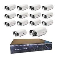 16 Kanal Analog DVR Kayıt Cihazı XMEYE+14 Adet Kamera HEDİYELİ BT-4513