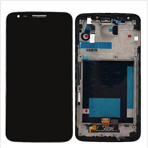 LG G2 D802 D805 Display im Komplettset LCD Ersatz Für Touchscreen Glas Reparatur (Schwarz + rahmen) Lg G2 Lcd Digitizer