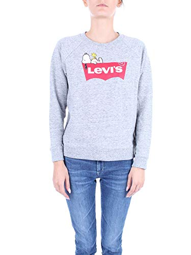 Levis Relaxed Graphic Crew Peanuts Housemark L