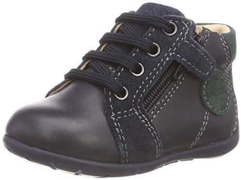 Geox Baby Jungen B Kaytan C Sneaker Blau (Navy/Dk Green C4428) 24 EU