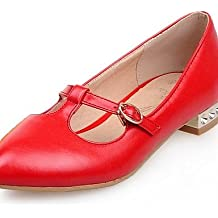 ZQ Zapatos de mujer - Tacón Bajo - Punta Redonda - Mocasines - Casual - Semicuero