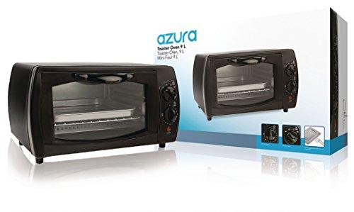 Azura AZ TO9L Toaster Ofen,9L, 1000W