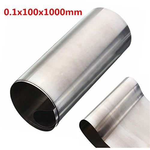 Silver Stainless Steel Fine Plate Sheet Foil