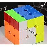 THE VALK 3 - Qiyi MoFangGe Professional 3x3 Speed Cube Rubik's Cube Brain Game Puzzle - STICKERLESS