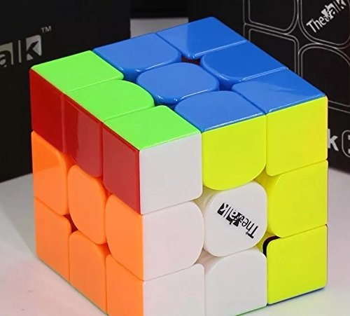 Preisvergleich Produktbild THE VALK 3 - QiYi MoFangGe 3X3 Professional & Competition SpeedCube Brain Game Puzzle - STICKERLESS