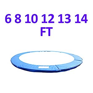 Greenbay 6FT Replacement Trampoline Surround Pad Foam Safety Guard Spring Cover Padding Pads Blue