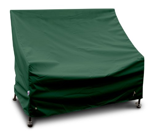 KoverRoos Weathermax 67351 Highback Loveseat/Sofa Cover, 49-Inch Width by 34-Inch Diameter by 40-Inch Height, Forest Green