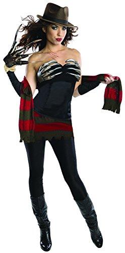 Nightmare Miss Krüger Kostüm für Damen, Größe:XS (Frau Krüger Halloween Kostüme)