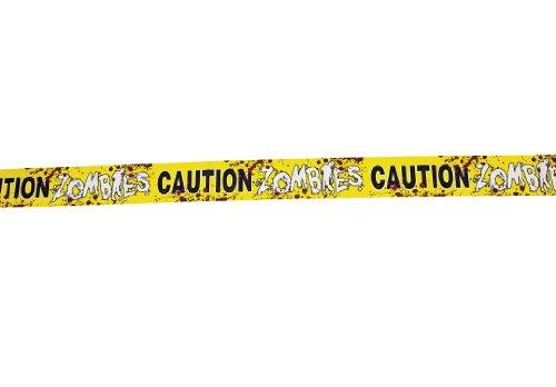 Zombie Absperrband mit Blutspritzern 6m lang Palandi®