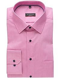 eterna Langarm Hemd Modern Fit Chambray Unifarben