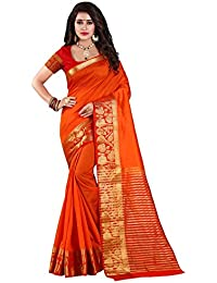Nirja Creation Cotton Silk Saree With Blouse Piece