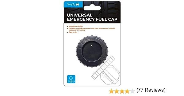 Vis /à t/ête facile /à installer /à essence Diesel de remplacement simple pousser et tirer Action simplement Efc01/Bouchon de r/éservoir dessence universel Mat/ériau souple pour toutes les voitures et camionnettes