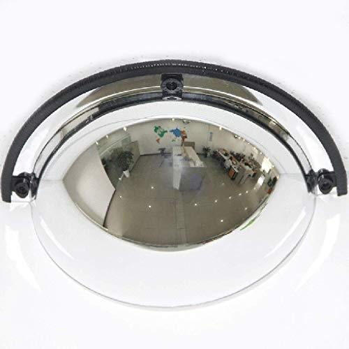 DHR- Panorama-Halbkuppel-Konvexspiegel, 1/4-sphärisch, 180-Grad-Betrachtungswinkel, Acrylsicherheit, Geeignet for Geschäfte, Bürofabriken, Werkstatt Auffahrt Verkehrsspiegel ( Größe : 30cm(12inch) )
