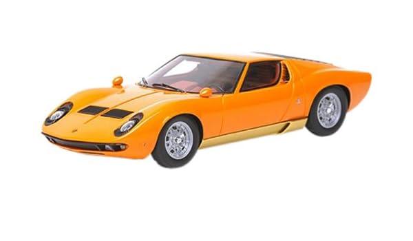 Lamborghini Miura P400 1967 Orange Gold Amazon Co Uk Toys Games
