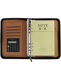 Bao core de alta gama multiusos con cremallera cartera conferencia reunión de negocios bloc de notas