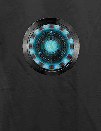 Arc Reactor Iron Man T-Shirt Grau