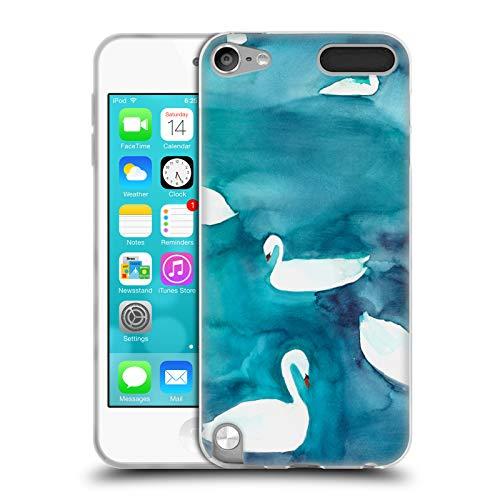 Head Case Designs Officiel Mai Autumn Cygnes Animaux Coque en Gel Doux Compatible avec Apple iPod Touch 5G 5th Gen