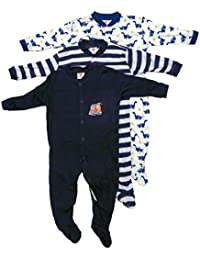 9d641fc250c8 Mini Berry Unisex Cotton Full Sleeves Rompers in Black Color -Set of 3Pcs