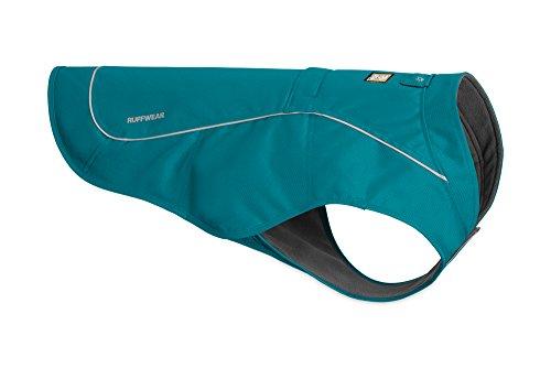 Preisvergleich Produktbild Ruffwear Widerstandsfähige Hunde-Jacke mit Fleece-Innenfutter,  Sehr Kleine Hunderassen,  Größe: XS,  Blau (Baja Blue),  Overcoat,  05203-450S1