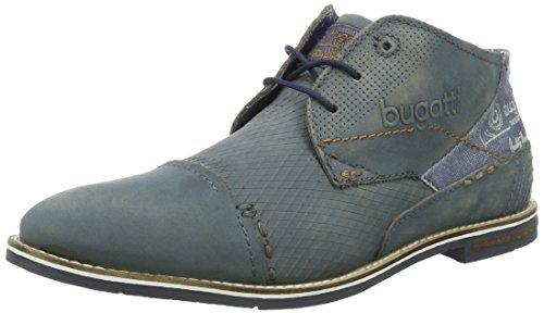 Bugatti - 312111051500, Scarpe stringate Uomo Blau (Blau 4000)