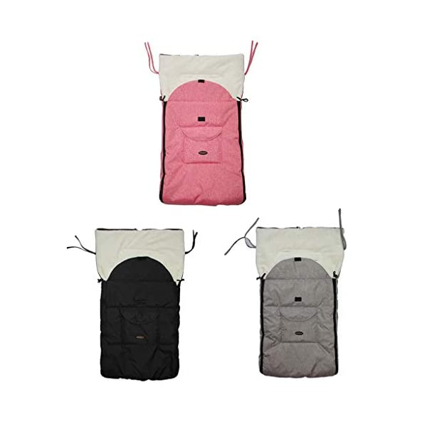 DENGHENG Baby Sleeping Bag Infant Winter Stroller Thick Warm Envelope Sleepsacks Footmuff DENGHENG ❤ Stroller Sleep Bag, Softly padded with warm fleece lining and extra quilting. ❤ 2 in 1 - Removable front unzips, easily converting to a comfy Seat liner ❤ Can Also be used as a Padded Pushchair or Buggy Liner- ideal for the summer months 4