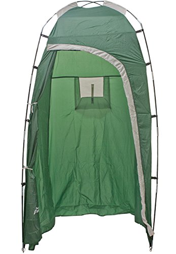 Andes deluxe portable toilet shower utility tent camping for Deluxe portable bathrooms