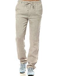 Suchergebnis auf Amazon.de für  Leinen - Hosen   Herren  Bekleidung 7b23854e28