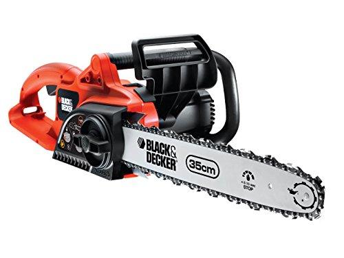 Black + Decker GK1830 Chain SAW 30CM 1800W Tronçonneuse Électrique à fil 1800 W Guide 30 cm
