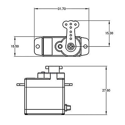 Esky Digital Servo RC Spare Parts 7.5g for all Esky RC Heli 000155